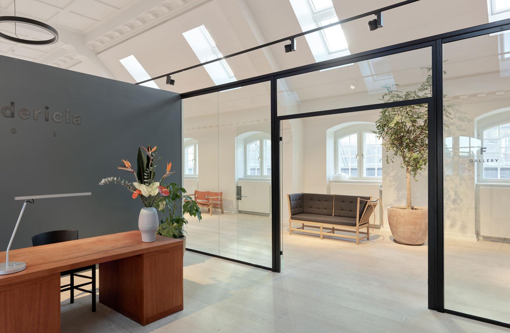 Fredericia Furnitures receptionsområde