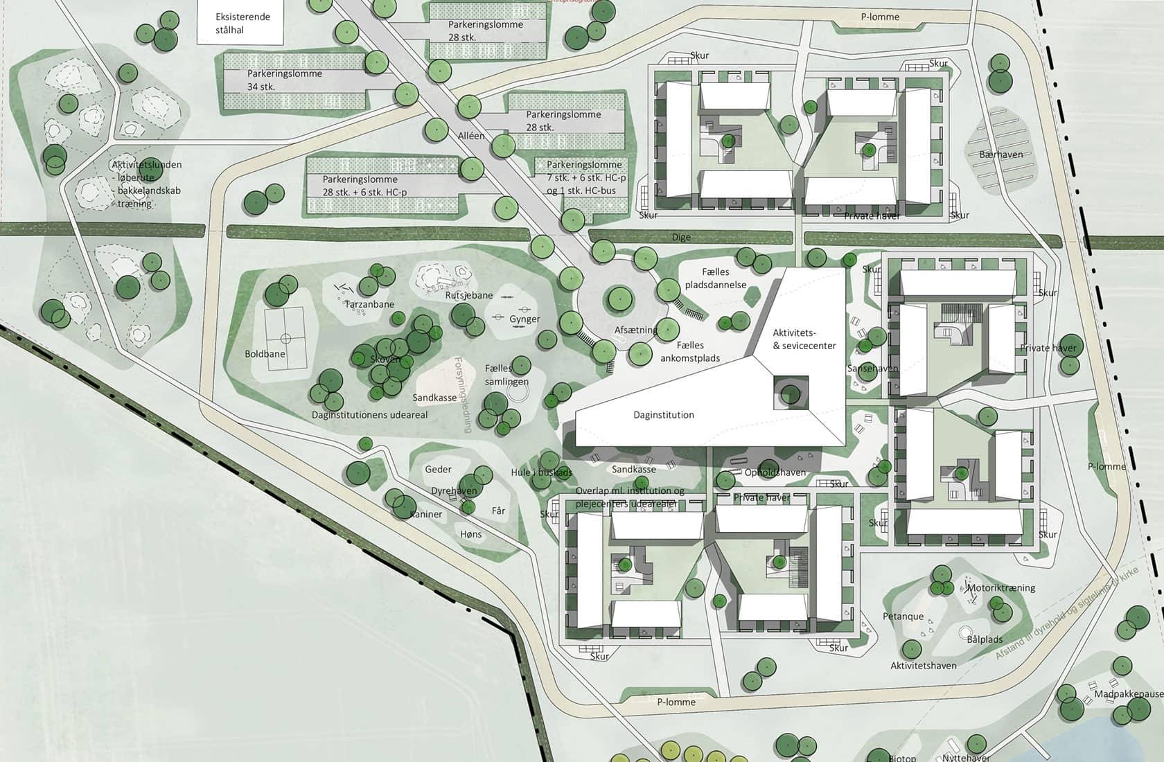 Landskabsplan for Gauerslund Fællesinstitution