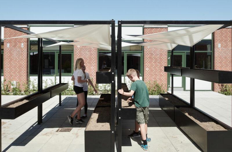Udendørsareal ved Lundgårdsskolen
