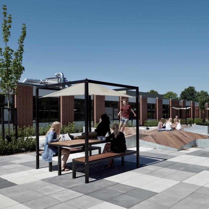 Udendørsareal ved Lundgårdskolen