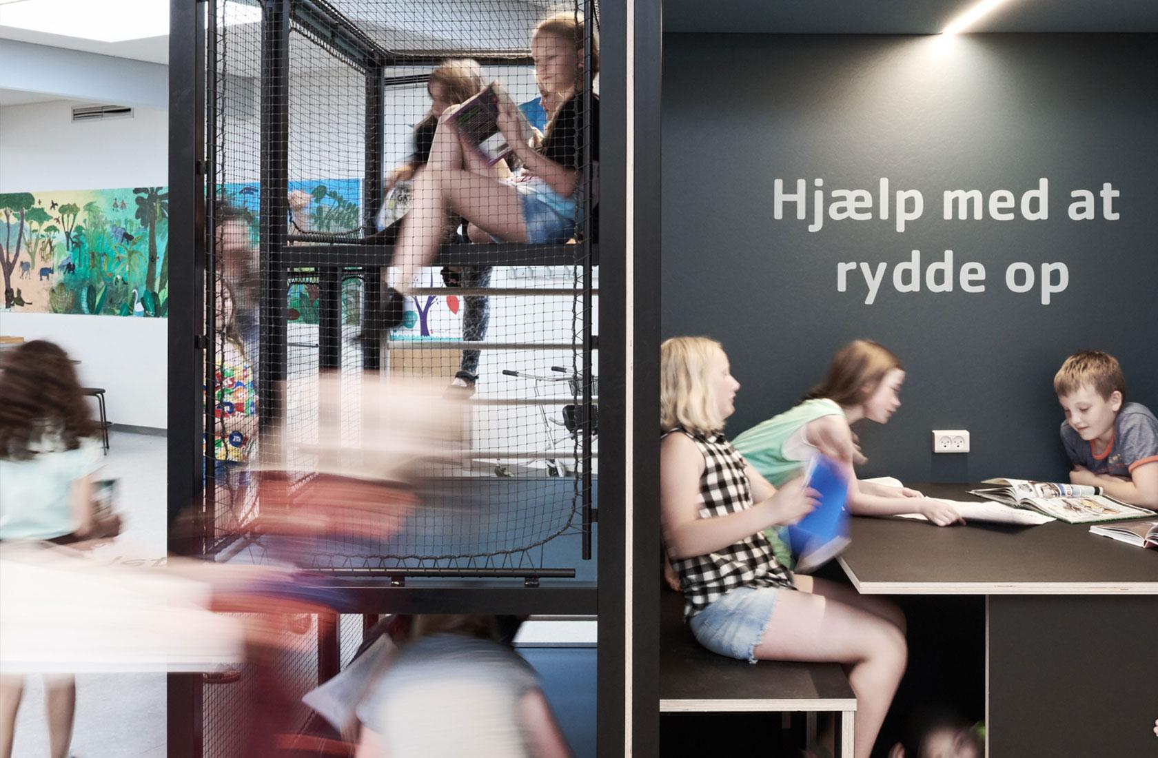 Arbejdsområde i Lundgårdskolen