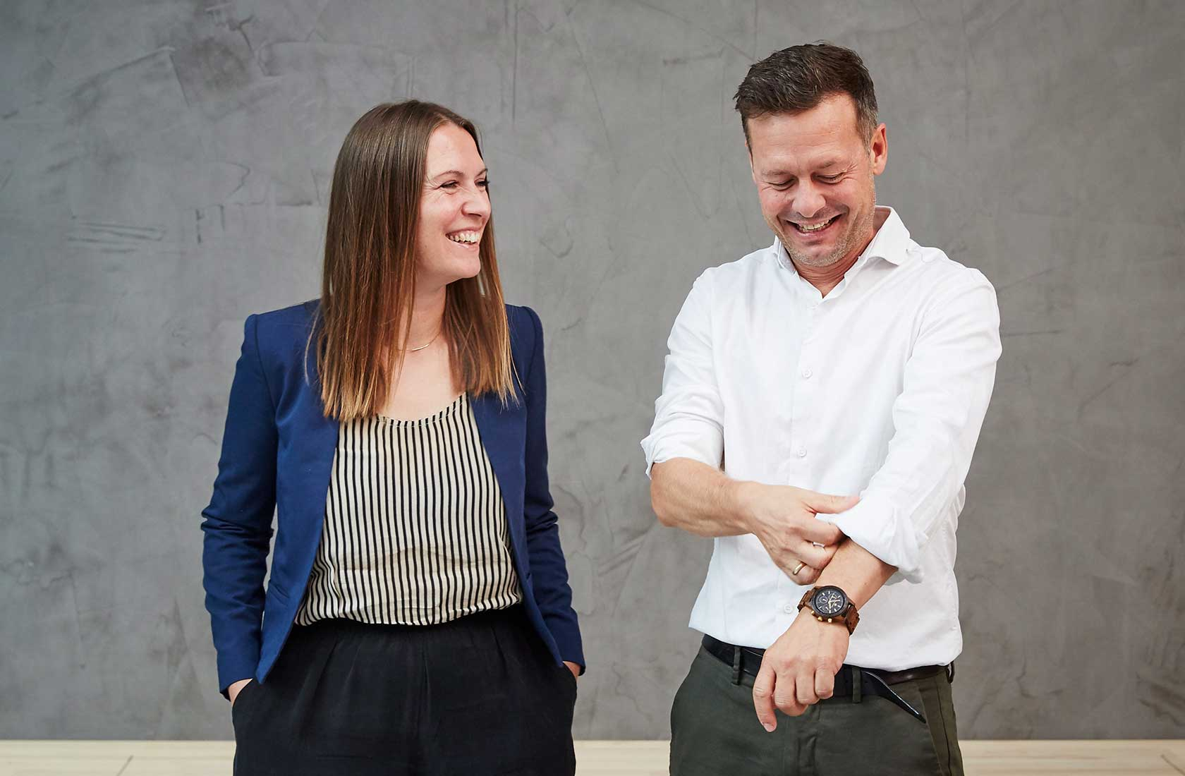 Eva Bjerring og Ask Abildgaard